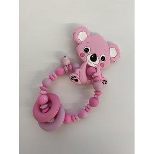 Wurmito Beissringkette rosarot Koala
