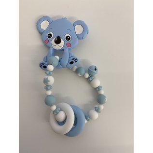 Wurmito Beissringkette hellblau Koala