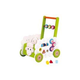 Spielba Lernlaufhilfe Baby Walker Schaf