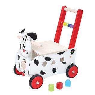 Spielba Lernlaufhilfe Baby Walker Hund