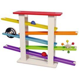 Spielba Formen und Kugelbahn klein