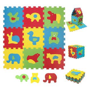 Ludi Spielmatte Tiere 86.5 x 86.5 cm