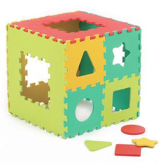 Ludi Spielmatte Geometrie 120.5 x 120.5 cm