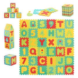 Ludi Spielmatte Buchstaben und Zahlen