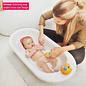 Angelcare Badesitz für Babybadewanne grau