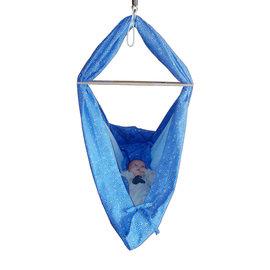 Erisana Hängematte Blumenwiese blau