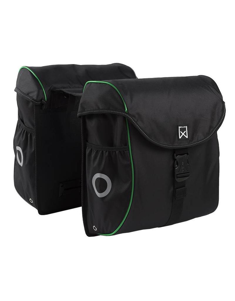 Willex bagagetas 300 zwart/groen