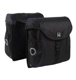 Willex bagagetas 300 zwart/blauw