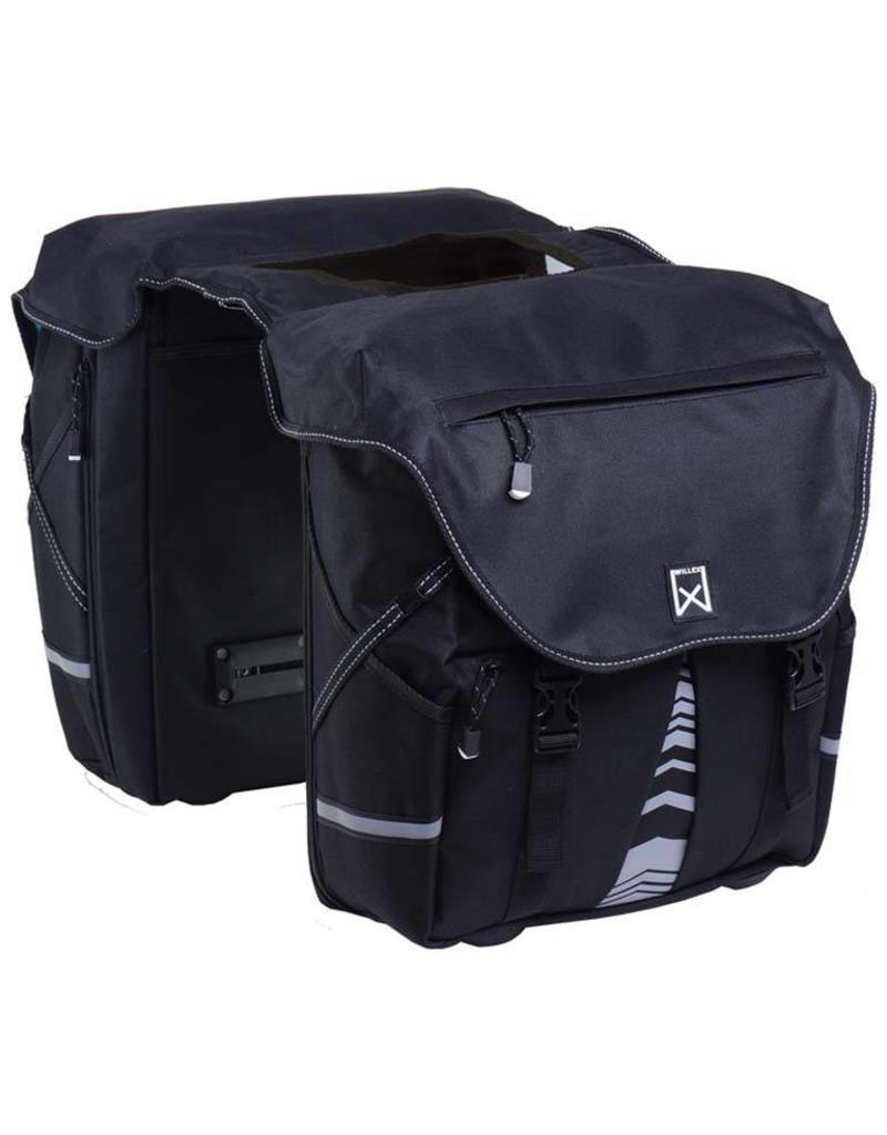 Willex bagagetas XL 1200 zwart