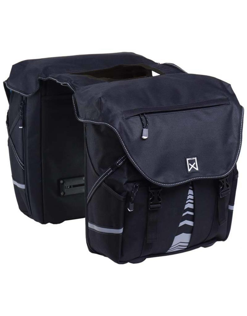 Willex bagagetas 1200 zwart 28L