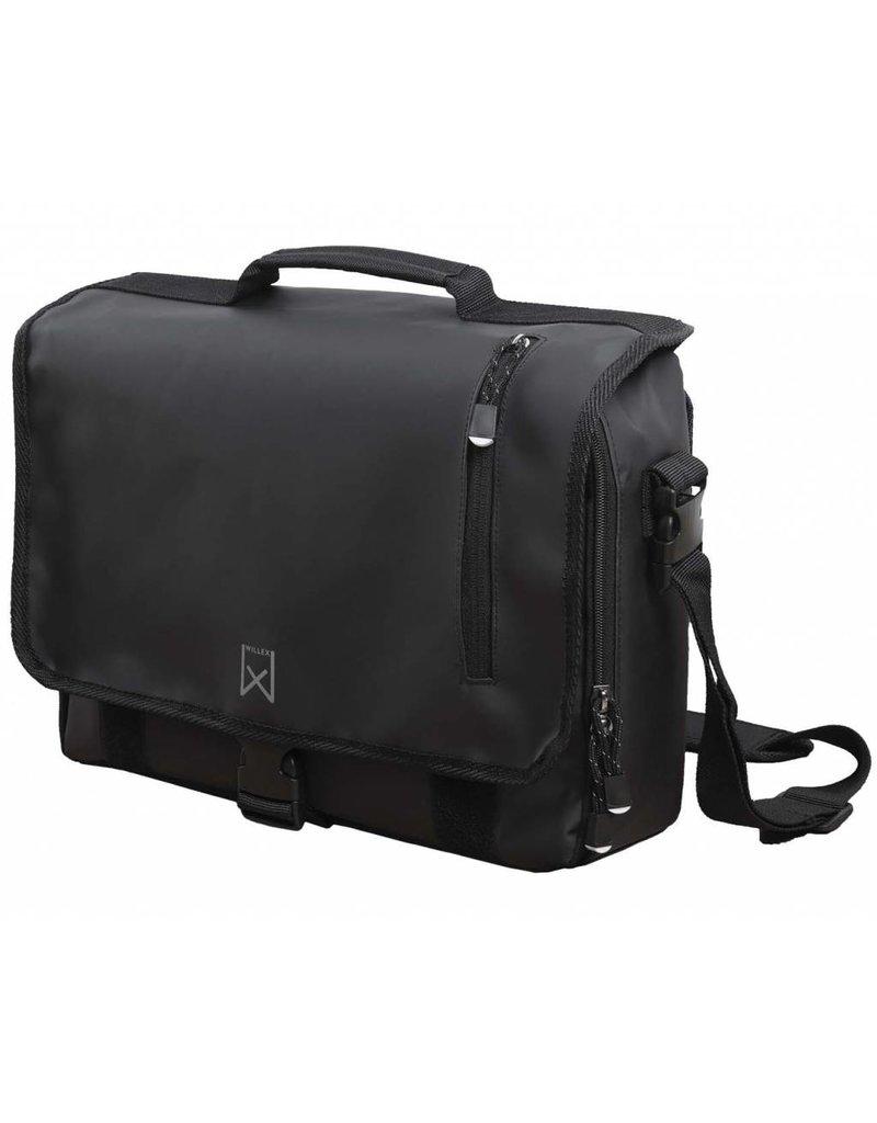 Willex messengertas zwart 10 liter