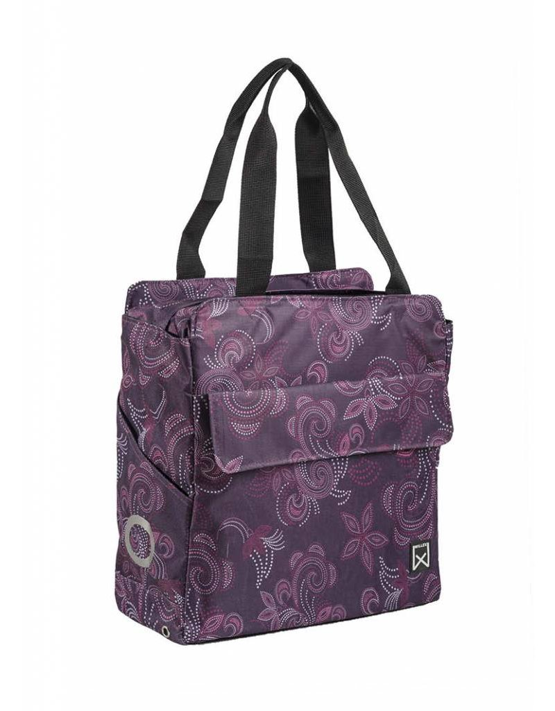Willex shopper Paisley paars