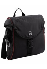 Willex pakaftas 300 S zwart/rood 12L