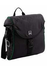 Willex pakaftas 300 S zwart/groen 12L