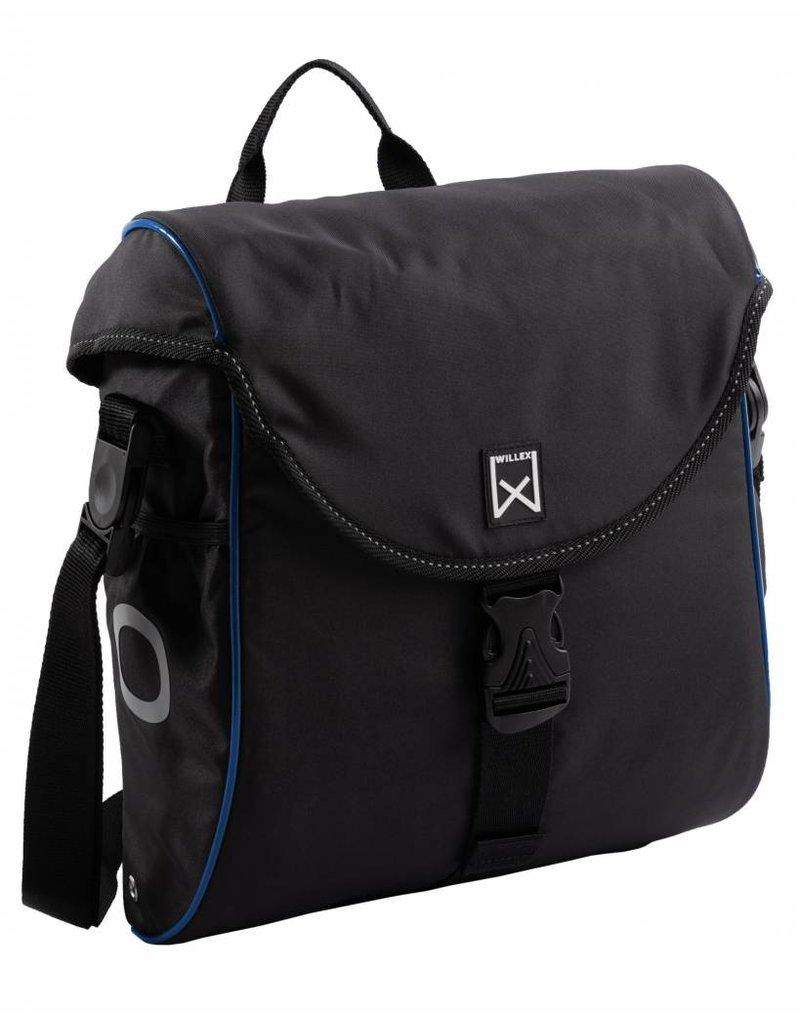 Willex pakaftas 300 S zwart/blauw 12L