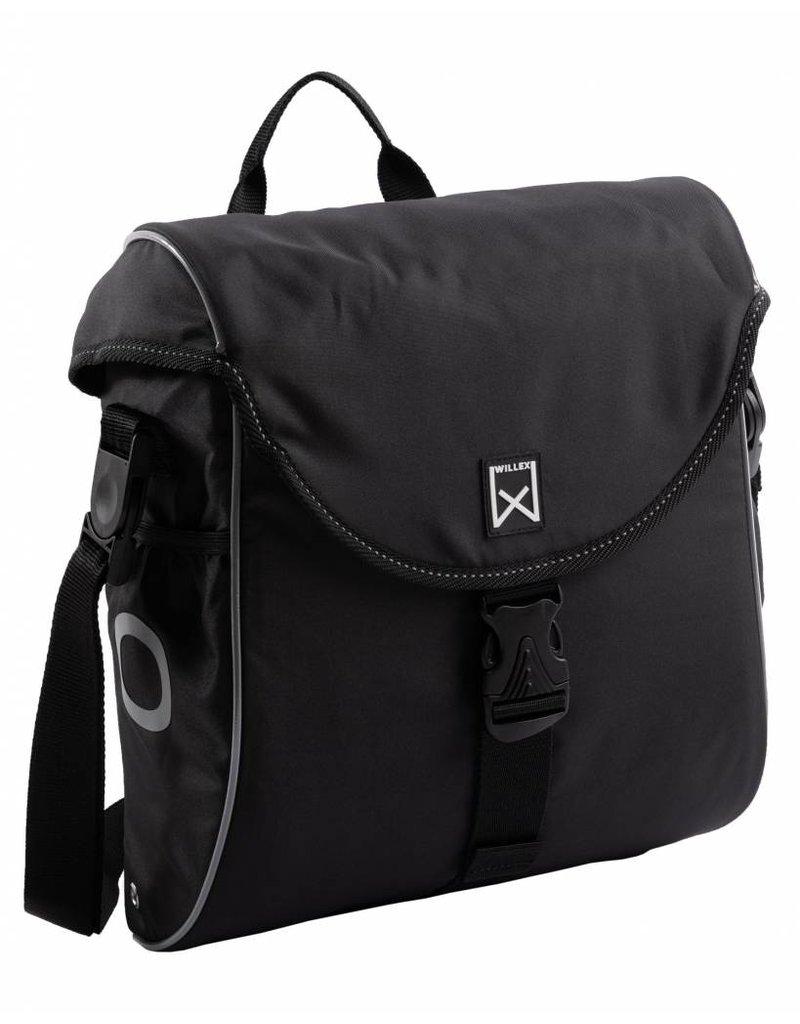 Willex pakaftas 300 S zwart/zilver 12L