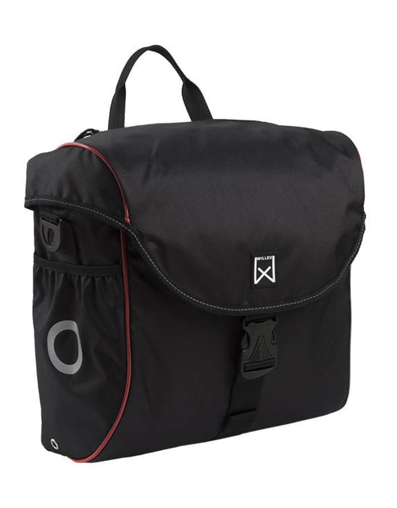 Willex pakaftas 300 zwart/rood 19L