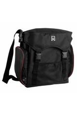 Willex pakaftas XL zwart/rood 17L