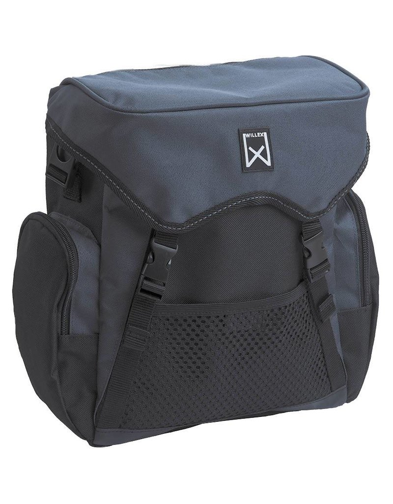 Willex pakaftas zwart/grijs 10L