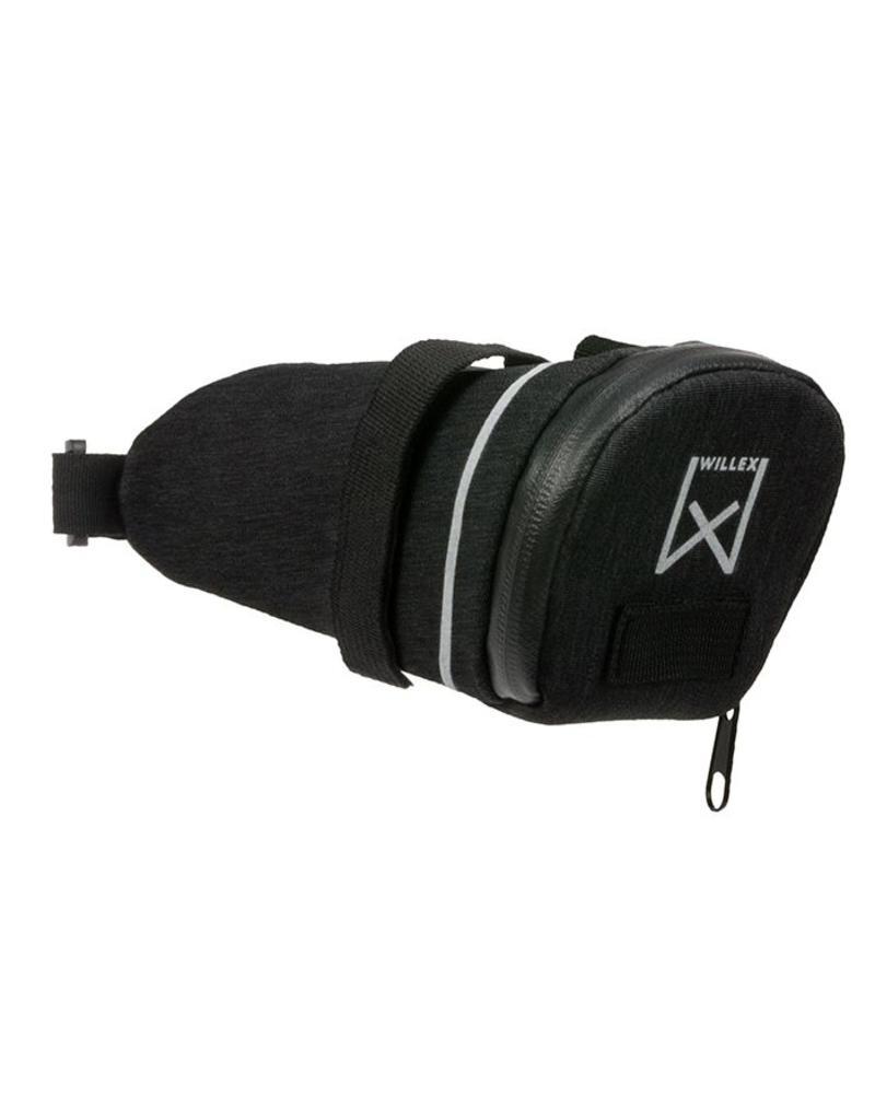 Willex zadeltas 200 zwart  1.8L