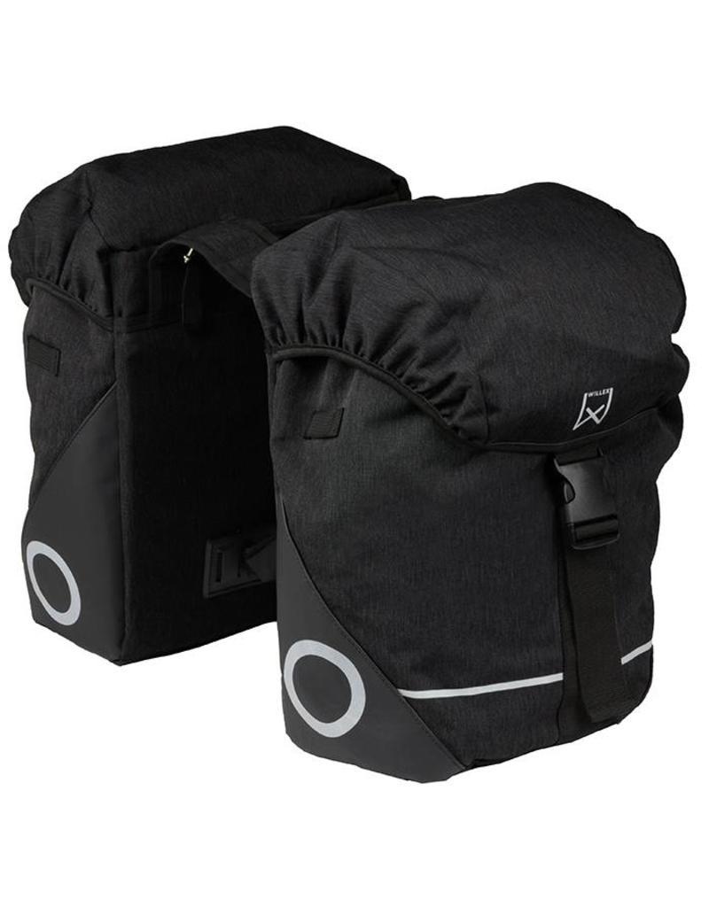 Willex bagagetas 200 zwart