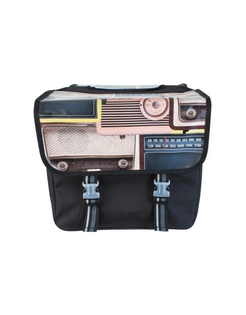 Fastrider dubbele tas HIFI radio 33L