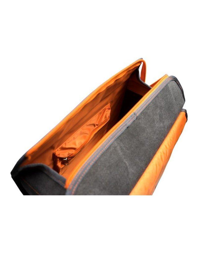 Fastrider shopper MELANGE FLUO oranje 23L