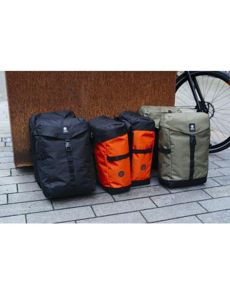 AGU Urban Essentials DWR dubbele tas zwart