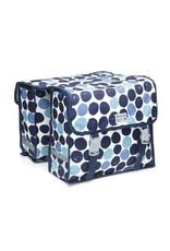 New Looxs Fiori Dots dubbele tas blauw 30L