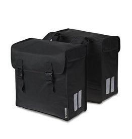 Basil Mara 3XL dubbele tas zwart 52L