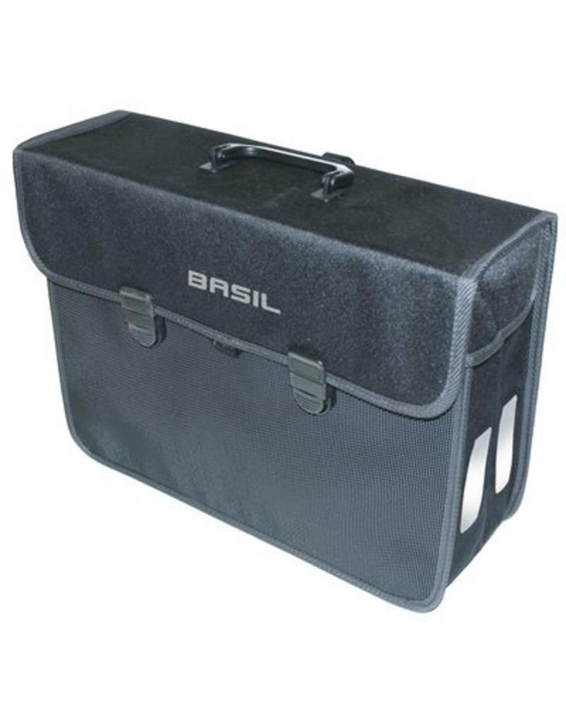 Basil Malaga XL pakaftas zwart 17L