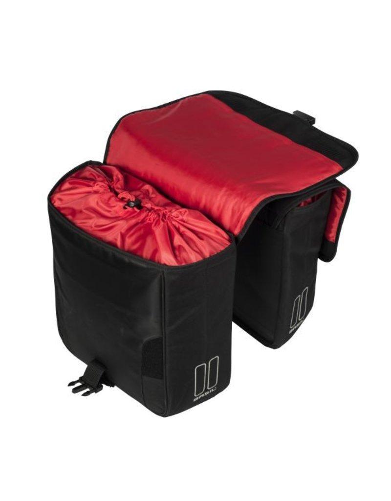 Basil Sport Design dubbele tas zwart 32L