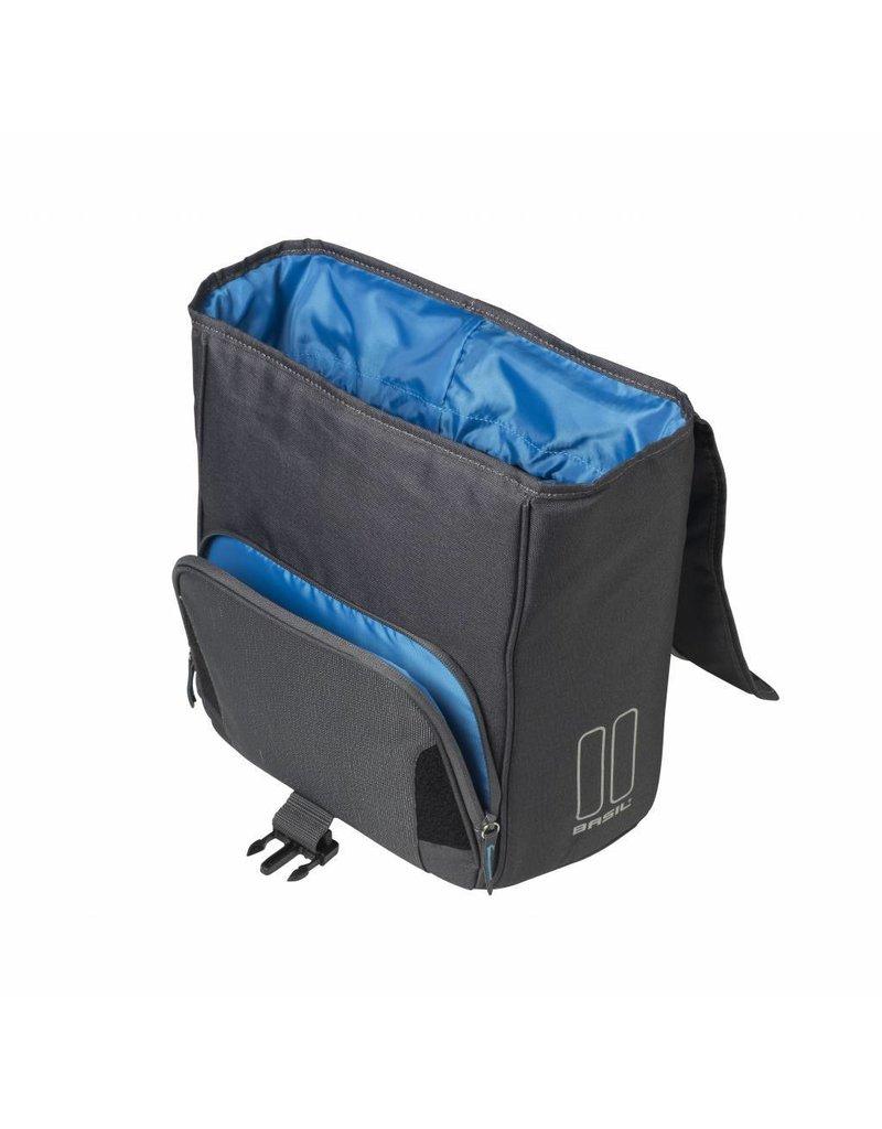 Basil Sport Design Commuter Bag graphite 18L
