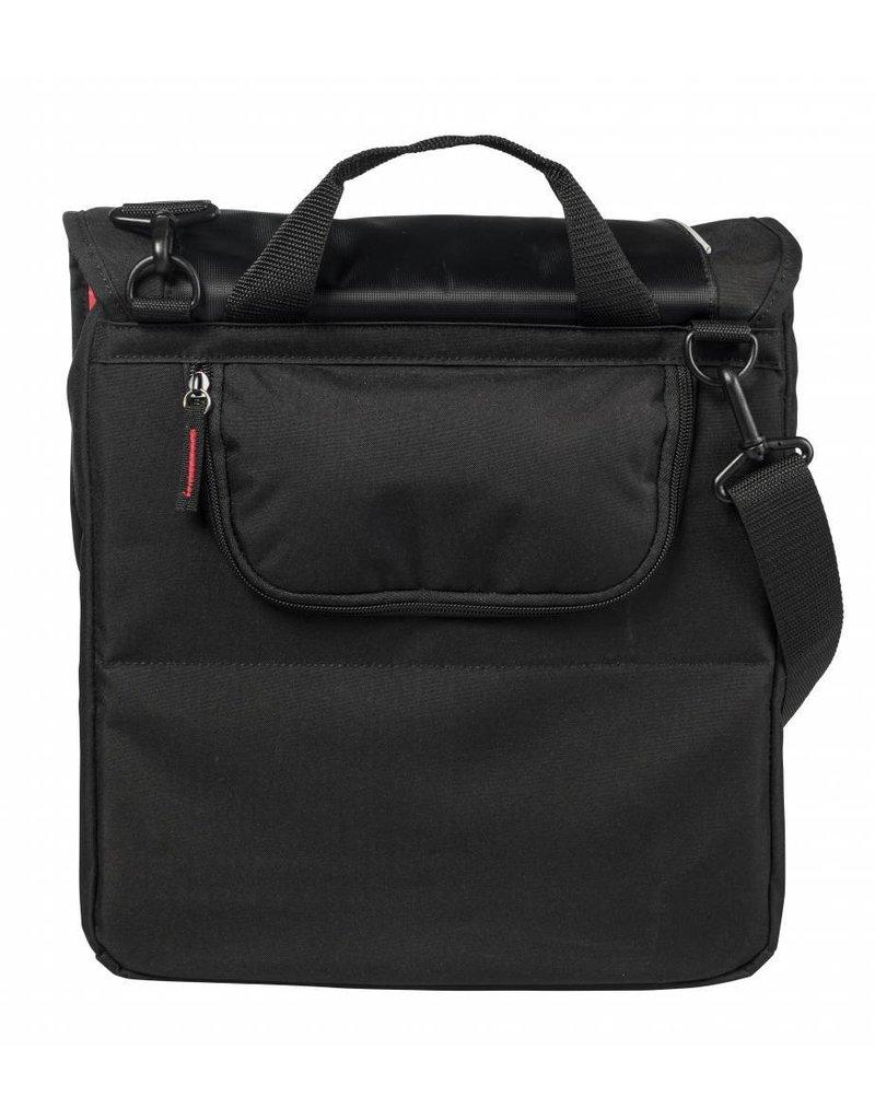 Basil Sport Design Commuter Bag zwart 18L