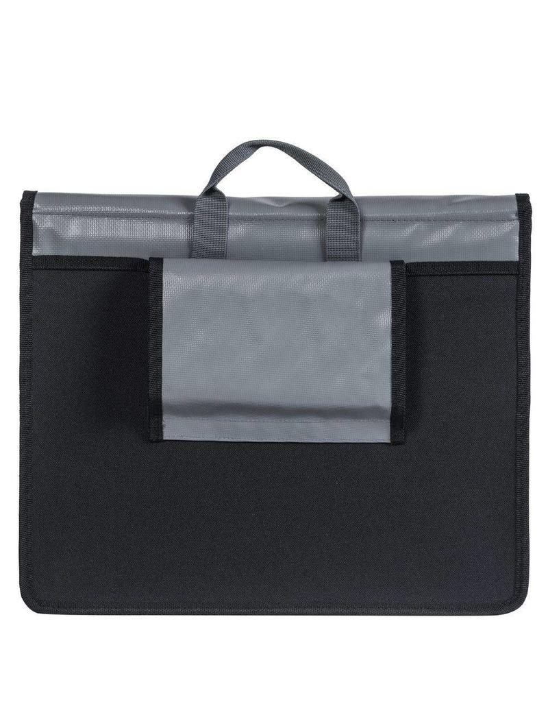 Basil Urban Load Messenger Bag grijs/goud 15-17L
