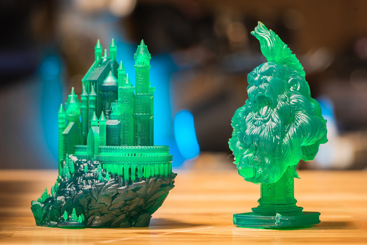 Anycubic photon print examples
