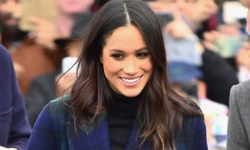 In her style...Meghan Markle