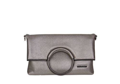Clutch bag Stacey (pewter)