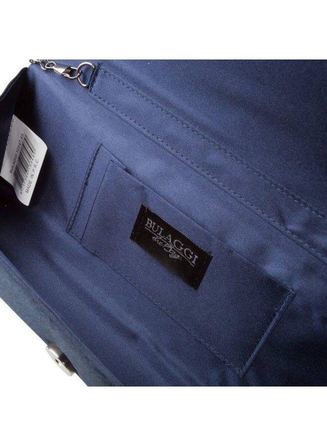 Clutch bag  Pam (dark blue )