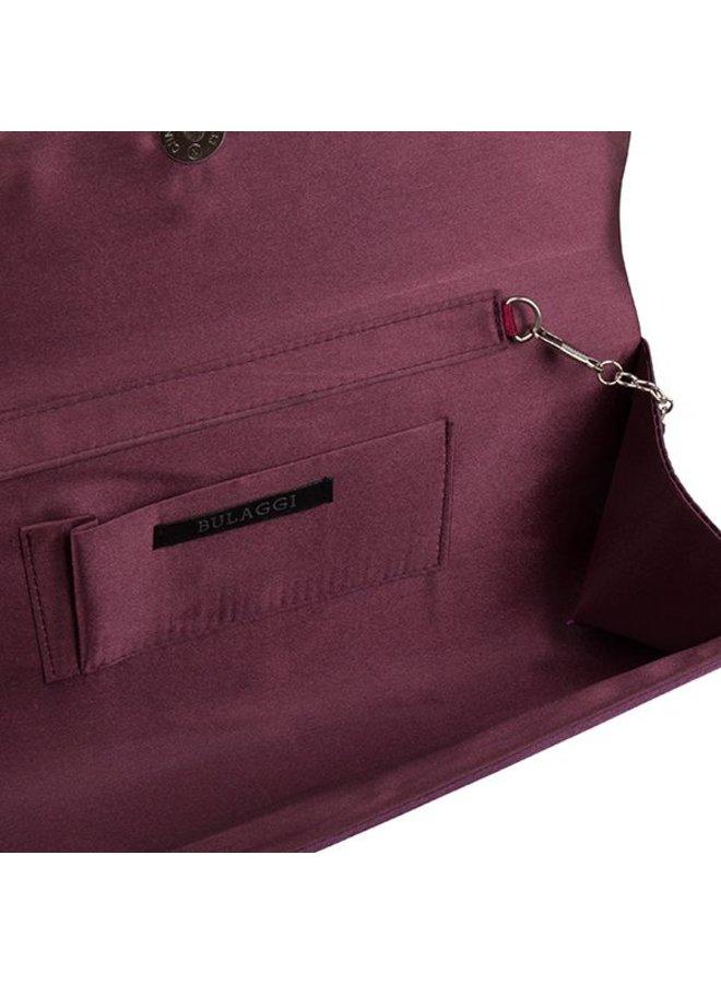 Clutch bag  Pam (eggplant)