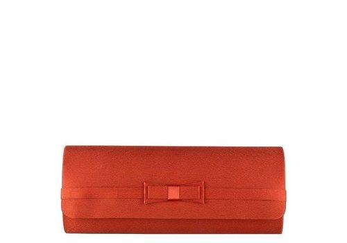 Clutch bag  Pam (burnt orange)