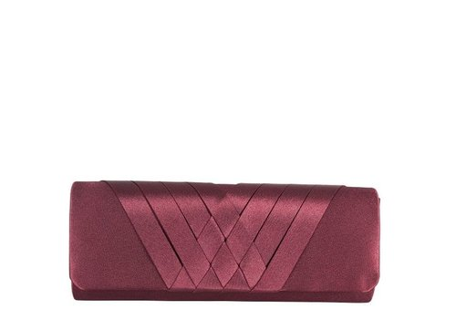 Clutch bag  Suka (burgundy)