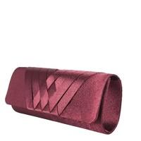 Clutch bag  Suka (burgundy)