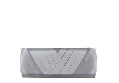 Clutch bag  Suka (silver)