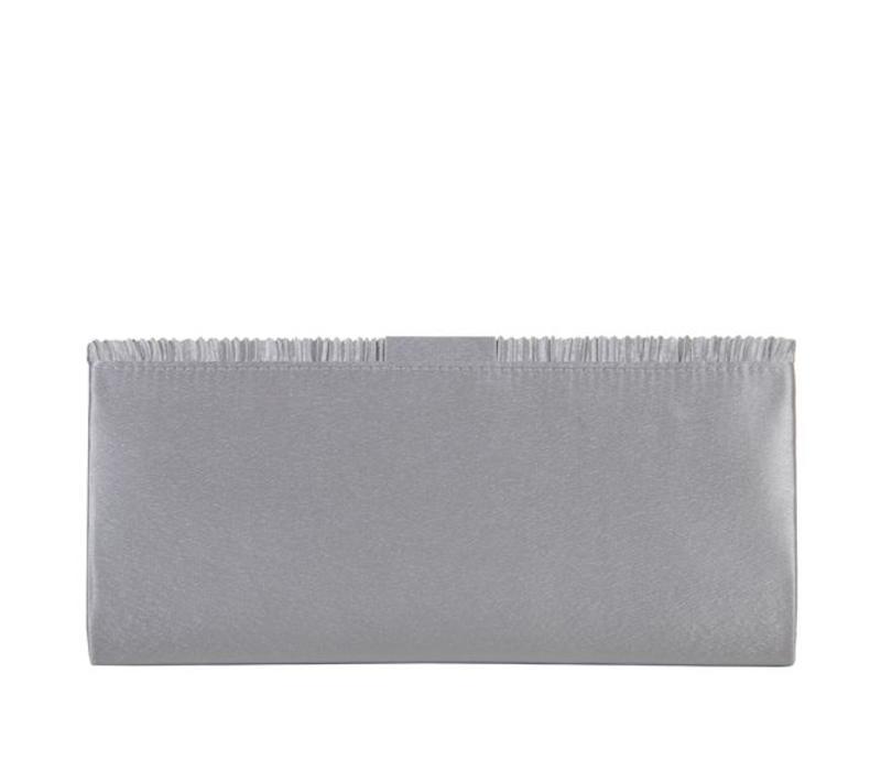 Clutch bag  Suwa (silver)
