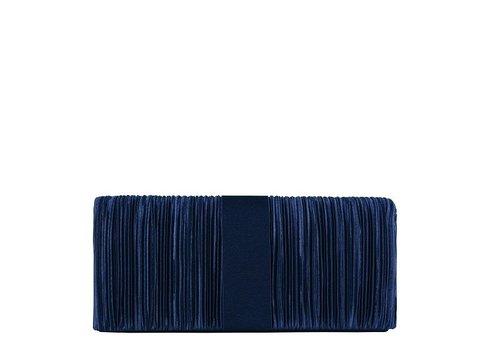 Clutch bag  Suwa (dark blue )