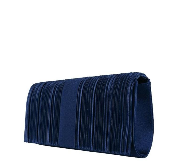 Clutch bag  Suwa (dark blue )