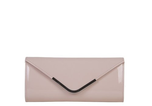 Clutch bag Sabella (pastel pink)