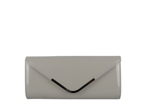 Clutch bag Sabella (light grey)