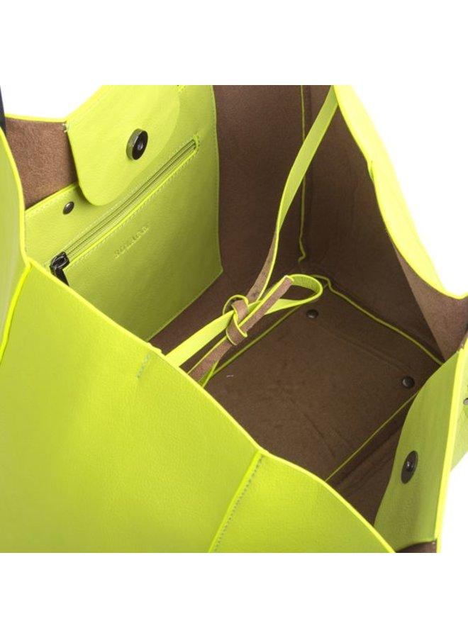 Shopping bag Joan (lime)